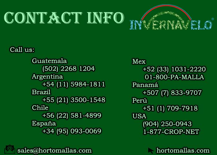 hail protection netting contact info